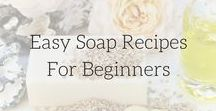 || Easy Soap and Cleaner Recipes || / Easy to make homemade soap and cleaner recipes. How to make soap, making soap at home, natural cleaners, soap making for beginners, cold process, hot process,