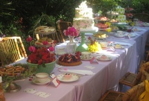 Alice in Wonderland tea party / Anyone for Tea? Catering's favorite sweet 16 Tea Party.