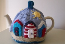 Tea Cozy love! / I think it's a British thing , but I just adore knitted tea cozies!