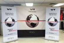 Tradeshow Booths - Red Carpet Back Drop / Put your marketing dollars into a great looking Tradeshow or Red Carpet Back Drop Banner.