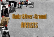 Under&OverGround Artists / Under&OverGround est le guide touristique idéal pour découvrir Paris et New York autour des grands artistes de la musique, de la littérature et du cinéma.
