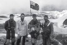 White Sherpas: Reaching the top with the Australian Bicentennial Everest Expedition / http://www.barrallierbooks.com/site/content/white-sherpas