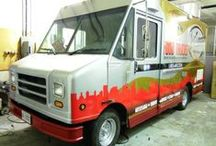 Food Trucks  / Food Trucks are the latest trend for foodies. Create unique illusions by attracting customers with wraps, partials or lettering on spacious canvas.