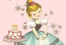Vintage Cuteness Cards / by Felicita Rios