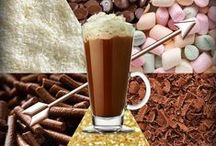 The Mali-Coco / You'll need: 150ml semi skimmed milk 3 teaspoons drinking chocolate powder 50ml Malibu rum  ...but the topping choice is up to you!  How do you like yours? ;)