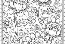 Colouring pages / Pages to color for children