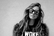 Women's street style / Eyewear Street Style
