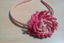 Hair headbands / Crochet