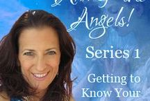 """Ann & the Angels Series 1:  Getting to Know Your Angels / In Series 1 – """"Getting to Know your Angels"""" you will learn all about angels – who they are, how they approach problem solving, how to best work with them, and a variety of techniques you can use to connect with your angels personally! Learn all about your psychic radar and how to channel all of life!"""