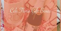 Ceh Flora Gift Boxes | Client Gifts | Special Occasion Gifts | Luxury Gifts / Gift boxes made by Ceh Flora Gift Co
