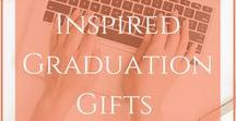 Inspired Gifts | Graduation / Gift ideas for graduations. #Grads #GiftsforHim #GiftsforHer