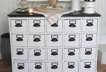 Buffet/Hutch, Cabinets
