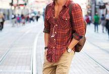 Men's Fashion / Man! You're so cool. Damn.