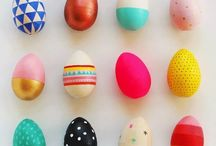 Easter Eggs and Diy / Colorful ideas for Easter
