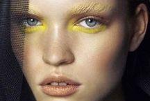Makeup + Hair / Humanuniform loves a new take on natural hair + makeup, feminine + tribal, delicate + bold, organic + avant garde, shiny things