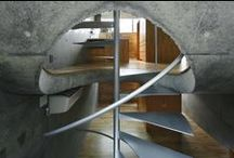 Interiors / Humanuniform loves sanctuary, utility, technology + nature, futuristic + organic, clean + chaotic, human-scale spaces