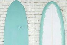 surf wanderlust / The art of surfing and the seaside culture that ensues.
