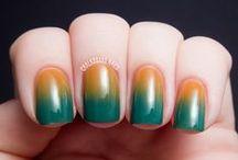 Gradient - ombre nails