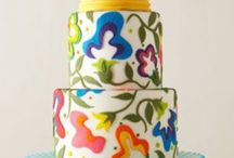 Cake-2 tiered & more / Cake tiered / by Trish Thompson
