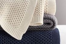 knit - for the home / Pillowcases, afghans and so on