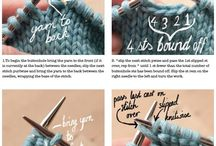 Knit - how to / Techniques and stitches