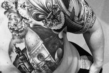 My tattoo progress... / My story... And work in progress by the amazing Simplesime. #Simplesime #firenze #tattoo #romanarch #italia
