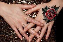 Tatouages éphémères / tatouages de peau éphémères,colorés ou noir et blanc, réalisés par de vrais tatoueurs