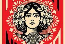 Propaganda and Advertisement + Artist: Shepard Fairey