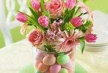 Easter Entertaining and Celebrations / Let your home, table and yard come alive with the colors and meaning of Easter celebrations.
