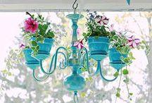 DIY design / Recycling ideas, decoration, interior design