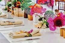 Design ideas - Tropical style /  Fruit, flowers and bright colors