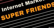 Internet Marketing Super Friends! / internet marketing | internet+marketing+quotes | internet+marketing+tips | internet+marketing+business | internet+marketing+for+beginners  Get MMO tips from my internet marketing super friends. I only pin quality content to help your succeed with your online business!
