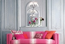 Interiors and elements / Appealing interiors, areas, room sets ..