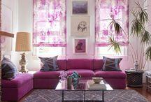 Värikkäitä tiloja | Colorful interiors