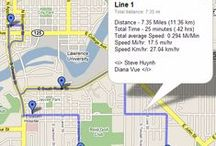 Goggle Maps in High School / Resources to teach high school students to edit and/or create their own Maps