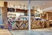 Bars and Restaurants / Be inspired by our floors chosen by top designers for bars and restaurants.