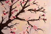 Cherry Blossoms / Cherry Blossoms in art.