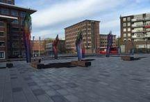 Publieke ruimte inrichten / Vind hier voorbeelden van ingerichte publieke ruimtes met Falco producten! Fietsparkeren, straatmeubilair, overkappingen en meer!