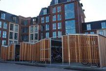 Buitenterrein woningbouw / Inrichting van buitenterreinen van appartementengebouw en nieuwbouwwijken.