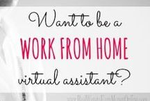Work / Ideas & information on working from home.