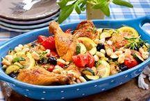 Rezepte - Mittag / Leckere, herzhafte Gerichte, die schmecken und gesund sind - ideal für das Mittagessen.