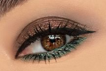 Make-up - Lidschatten & Eyeliner / Make-up für Augen: Ideen für Eyeliner und Lidschatten