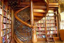 Traumhaus - Bibliothek / Ideen, die eigene Bibliothek zu gestalten und einzurichten.