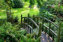 Traumhaus - Garten / Ideen für einen idyllischen Garten zum Seele baumeln lassen.