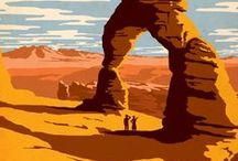 Voyages ailleurs / Illustrations d'ailleurs, Arizona, paysages étrangers