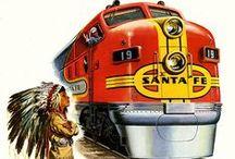Voyages trains / Illustration et affiches de trains