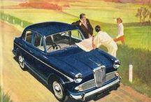 Europe et autres / toutes affiches et illustrations de voitures post-1945 hors USA