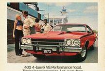 Américaines 60-70 / Illustrations et affiches de voitures américaines à partir de 60