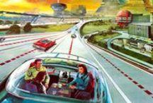 Science-Fiction / Véhicules du futur tels que vus dans le passé