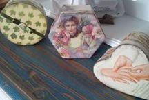 MY WORK - painting / Wood painting, Hand made, Decoupage, Ahşap boyama, El yapımı, Dekopaj,Pintura decorativa...